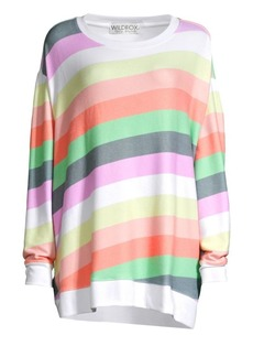 Wildfox Sorbet Stripes Roadtrip Sweater