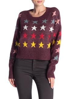 Wildfox Star Long Sleeve Sweater