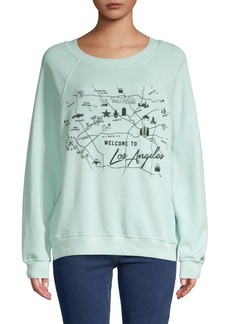 Wildfox Star Maps Sweatshirt