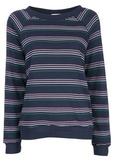Wildfox striped long-sleeve sweatshirt