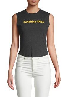 Wildfox Sunshine Diet Top