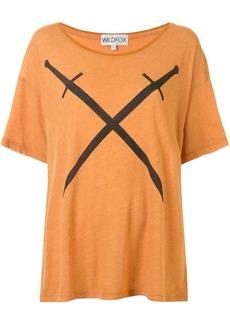 Wildfox sword-print T-shirt