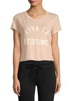 Wildfox Sydney Viva La Bedtime Cotton Tee