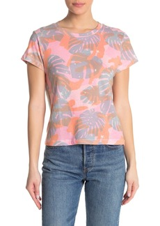 Wildfox Tropical Camo Print T-Shirt