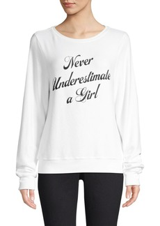 Wildfox Underestimate Sweatshirt