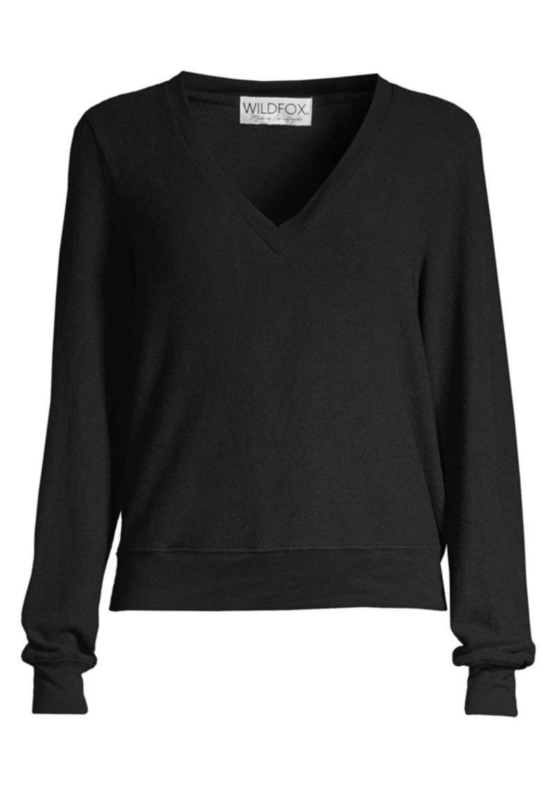Wildfox V-Neck Sweatshirt
