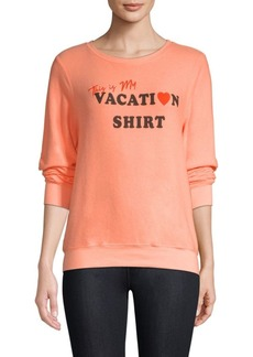 Wildfox Vacation Pullover Sweater