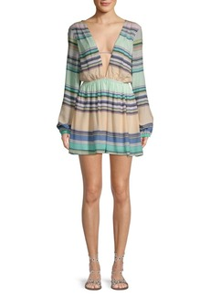 Wildfox Whitney Striped Dress