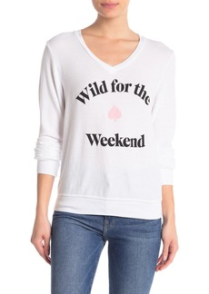 Wildfox Wild for the Weekend Sweater
