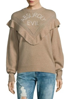 Wildfox Absurdly Evil Sweater
