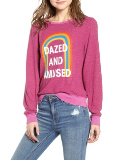 Wildfox Baggy Beach Jumper - Dazed and Amused Pullover