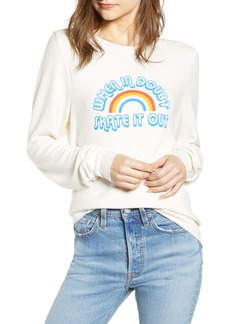 Wildfox Baggy Beach Jumper - Skate it Out Pullover