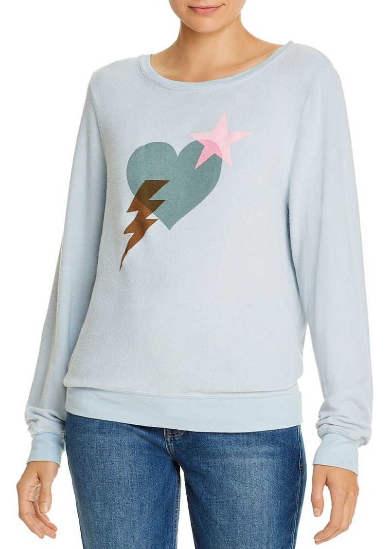 WILDFOX Baggy Beach Love Bolt Sweatshirt - 100% Exclusive