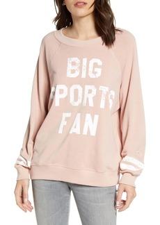 Wildfox Big Sports Fan Sweatshirt