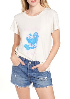 Wildfox Blocking Your Bad Vibes No9 Tee