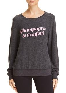 WILDFOX Champagne & Confetti Sweatshirt - 100% Exclusive
