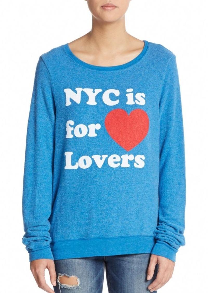 Wildfox City Of Love Sweatshirt
