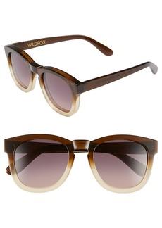Wildfox 'Classic Fox' 50mm Retro Sunglasses