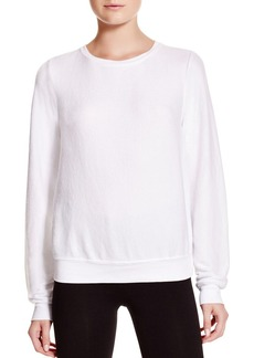 WILDFOX Clean White Sweatshirt