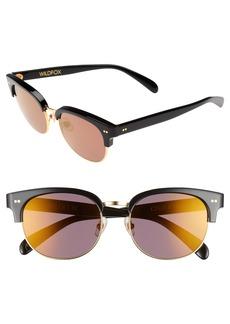 Wildfox Clubhouse 50mm Semi-Rimless Sunglasses