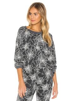 Wildfox Couture Black Widow Sommers Sweatshirt
