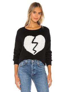 Wildfox Couture Broken Heart Jella Sweater
