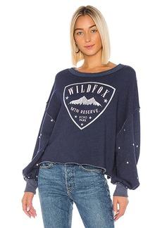 Wildfox Couture Crest Olivia Sweatshirt