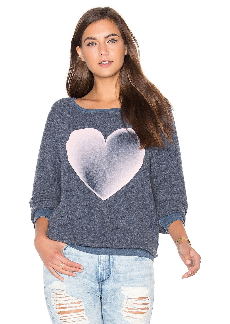 Wildfox Couture Faded Love Top