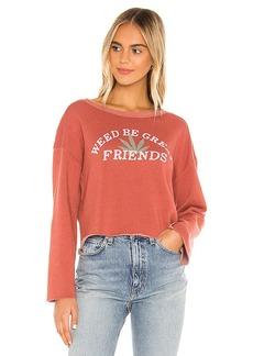Wildfox Couture Great Friends Flora Sweatshirt