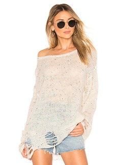 Wildfox Couture Lennon Confetti Sweater