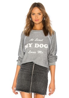 Wildfox Couture My Dog Loves Me Sommers Sweatshirt