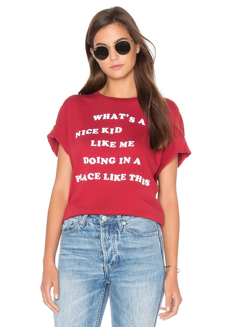 Wildfox Couture Nice Kid Top