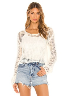 Wildfox Couture Phoenix Crochet Sweater