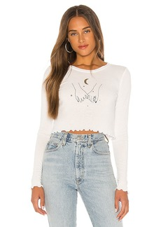 Wildfox Couture Pinky Promise Ren Long Sleeve