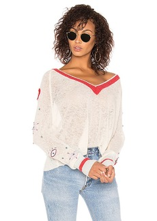 Wildfox Couture Power Icons Quincy Sweater