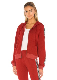 Wildfox Couture Python Everyday Track Jacket