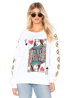 Wildfox Couture Queen Of The Damned Sommers Sweatshirt
