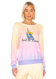 Wildfox Couture Sail St. Lucia Baggy Beach Jumper
