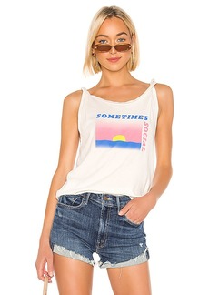 Wildfox Couture Sometimes Social Shasta Top