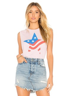 Wildfox Couture Star Flag Vintage Muscle Tank