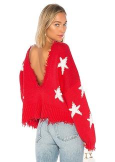 Wildfox Couture Stars Palmetto Sweater