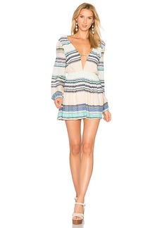 Wildfox Couture Whitney Dress in Blue. - size L (also in M,S,XS)