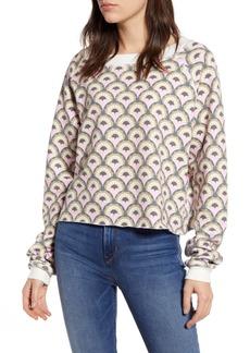 Wildfox Deco Hearts Sweatshirt
