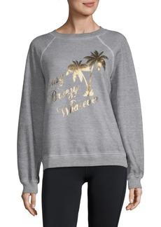Wildfox Easy Breezy Raglan-Sleeve Sweatshirt
