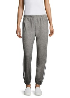 Wildfox Easy Side Taped Sweatpants
