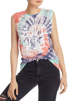 WILDFOX Eat Pie Vintage Muscle Tank