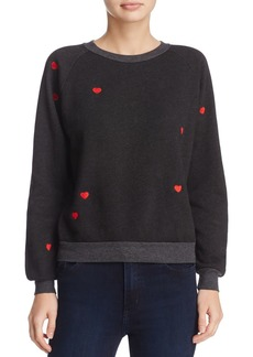 WILDFOX Embroidered Sweatshirt