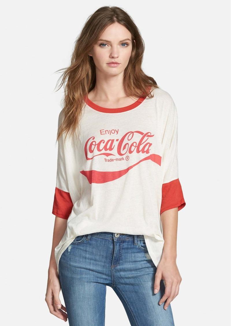 Wildfox 'Enjoy Coca-Cola®' Oversize Tee