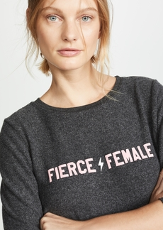 Wildfox Fierce Female Sweatshirt