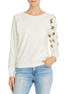 WILDFOX Fiona Falling Stars Sweatshirt